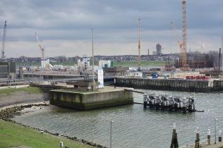 Bouw nieuwe Zeesluis naast de bestaande Noordersluis