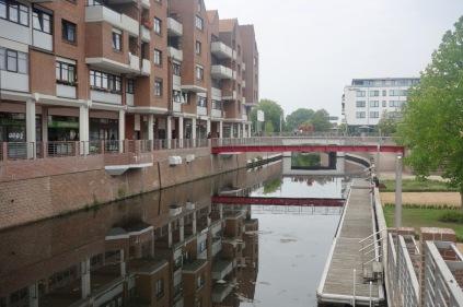 Spoykanal met nieuwbouw