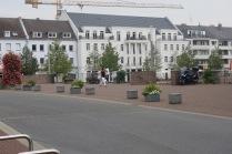 De vroegere havenopslagplaats