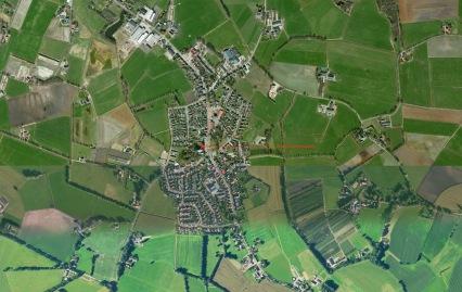Luchtfoto uit Google